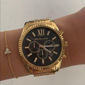 Good and Black Oversized Michael Kors Watch